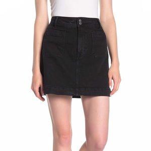 NWT Madewell Stretch Denim A-line Mini Skirt 6 & 8